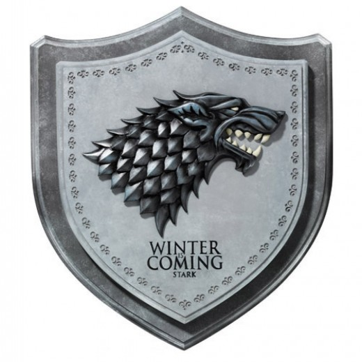 House Stark Sigil Plaque Gift