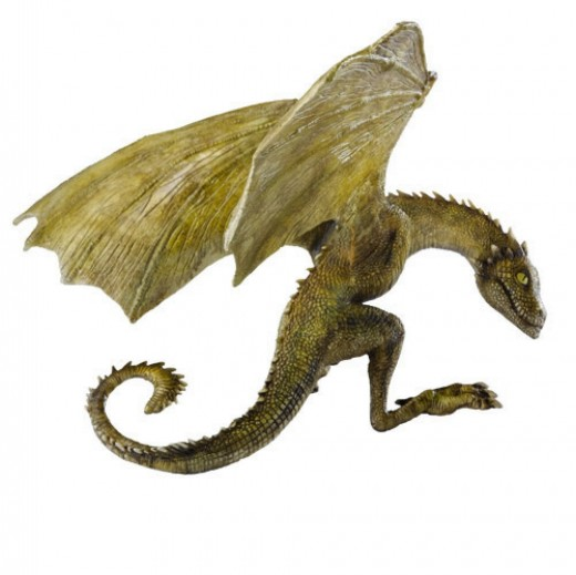 Rhaegal - Game of Thrones Dragon #2