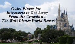 How to Find Quiet Areas at Walt Disney World Resort