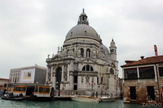 A Church in Venice in Water