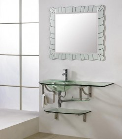 Pros and Cons of Glass Bathroom Vanities