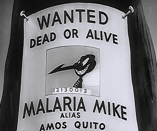 [Wanted Dead or Alive Malaria Mike. Alias Amos Quito]