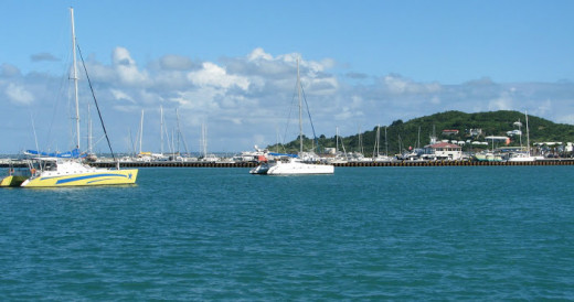 Marigot and its harbor help make St. Maarten a popular island to visit. © Scott Bateman