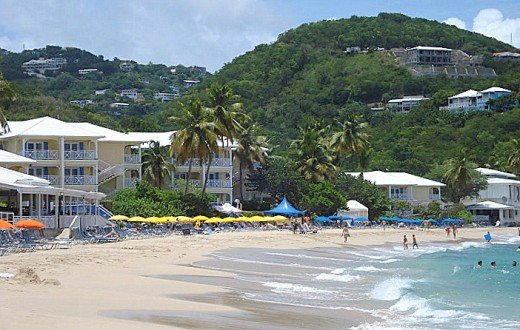 U.S. Virgin Islands has some nice beaches, but it's also heavily commercialized. © Scott Bateman