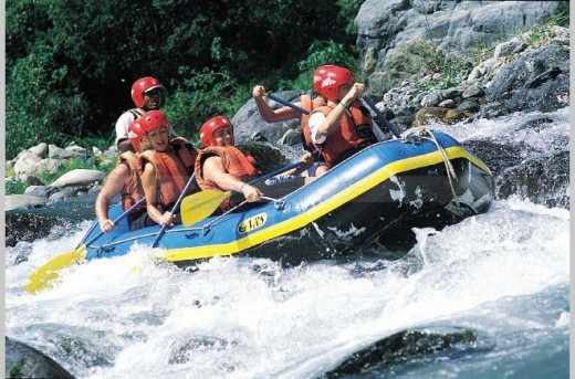 Several islands offer river rafting, such as Dominican Republic. © Dominican Republic Ministry of Tourism