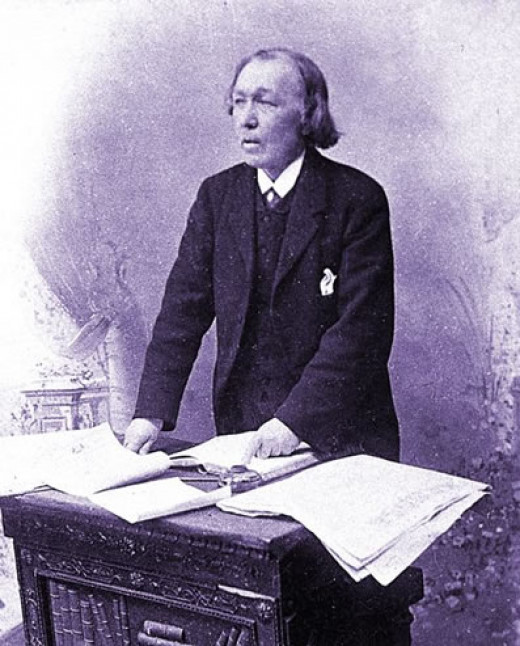 William Topaz McGonagall, a Scottish 19th century poet whose credited for writing what is widely regarded as some of the worst poetry in English literature.