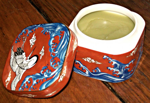 A finished salve