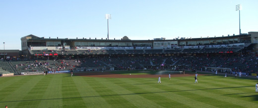 The Coca-Cola Park in the Lehigh Valley has an upper deck seating option.