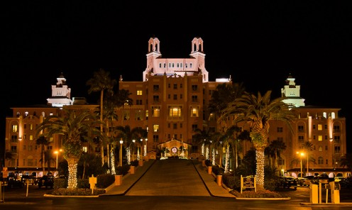 The Haunted Don Cesar Hotel in St. Petersburg, Florida