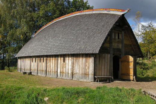 A rich merchant's hall on Gotland