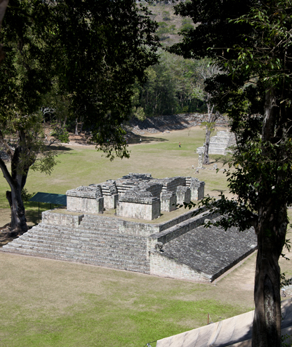 View of Mayan Ball Court, Copán
