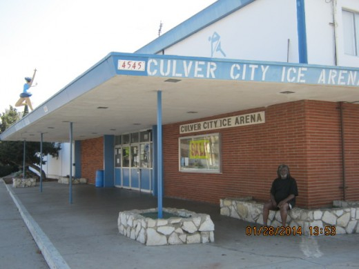 Front of Culver City Ice Arena