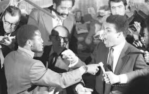 Muhammad Ali and Joe Frazier were both undefeated champions when they fought a classic battle at Madison Square Garden.
