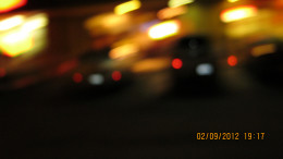 Crenshaw Blvd. at night