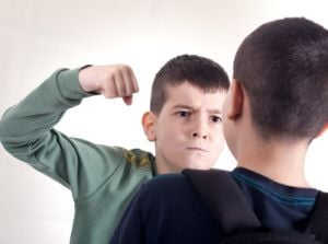 One punch is all it takes to turn a good kid into an abusive bully.