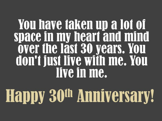 Funny 30th Anniversary Quotes: 30th Anniversary Wishes: Quotes, Poems And Messages