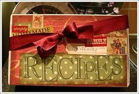 Decorative Recipe Box