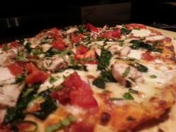 Home Made Margarita pizza