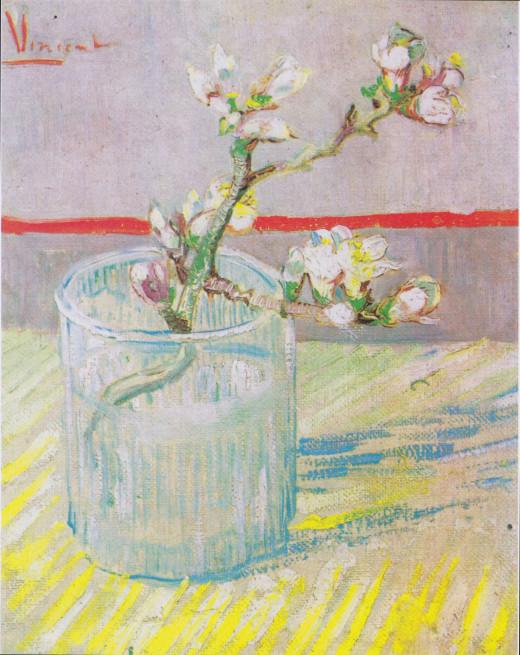 Almond blossoms--Van Gogh