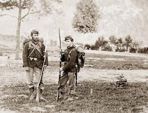 Troops of the 22nd NY Militia