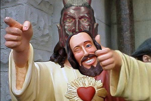 "The modern ""church's"" Jesus is Satan"