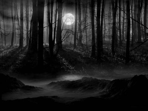 Darkness in many people's minds & consciousness is the EPITOME of E-VIL!  Darkness has been regularly associated w/evil since primordial times.  Darkness is viewed as quite suspicious, even sinister.  Darkness is where the shadow reigns supreme.