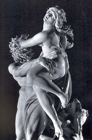 The Rape of Persephone by Bernini