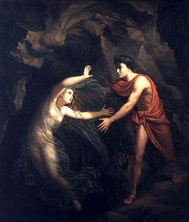 Orpheus Loses Eurydice Again