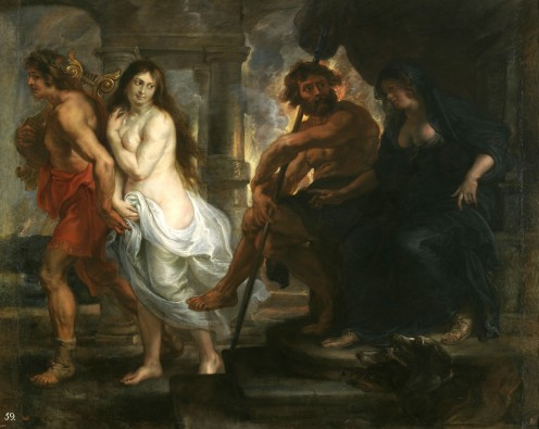 Orpheus Plays for Hades and Persephone for Eurydice's Return
