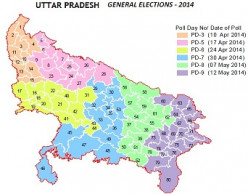 2014 Loksabha Election in Andhra Pradesh