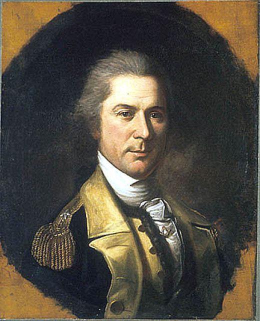 General Otho Holland Williams, commander of the 6th Regiment of the Maryland Line. He made his name when he took his regiment into the Southern Campaign in 1780.