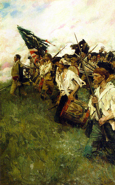 "Painting ""Nation Makers"" by Howard Pyle now at Brandywine Museum in Chadds Ford PA."