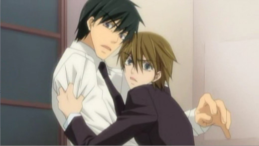 "The final pairing of Junjou Romantica, known as the ""Terrorist"" pairing."