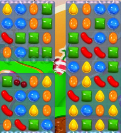 Candy Crush Level 76 - Teleporters, Why You So Confusing?