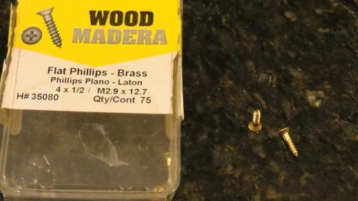 Half inch screws