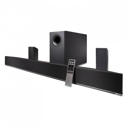 VIZIO Soundbar 5.1 with Wireless Satellite Speakers and Subwoofer (Model no. S4251w-B4)