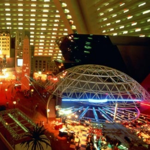 The Luxor Atrium is Nevada is the largest atrium in the entire world.