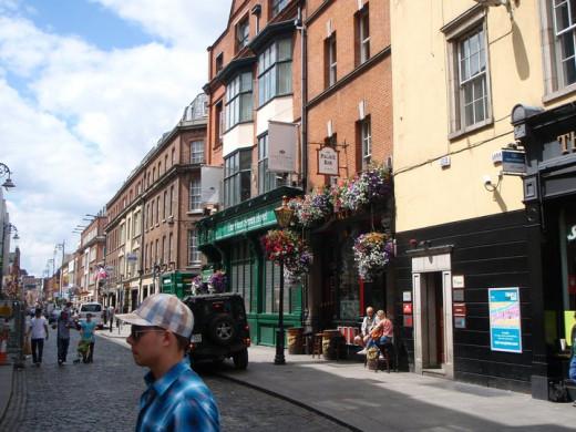 Fleet Street in Temple Bar