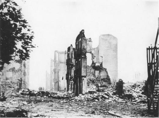 Bombing of Guernica, Spain - 1937