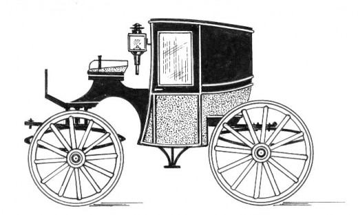 Line drawing of a Brouham