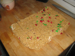 Home Made Rice Crispy Treats