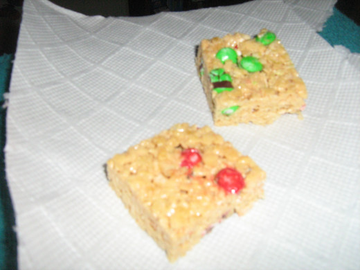 Home Made Rice Crispy Treats Perfected