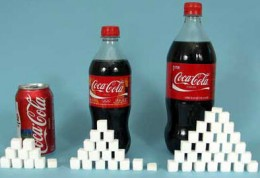 Look how much sugar is in soda!