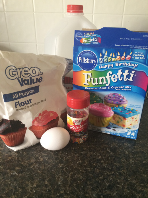 Easy, Easy Cake Batter Pancake Recipe with only a couple ingredients