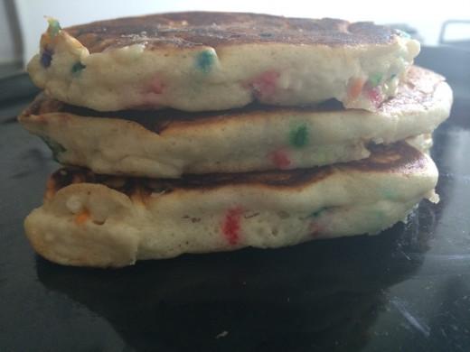 Look at those sprinkles! Yum! Cake Batter!