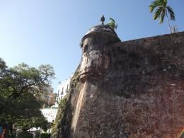 San Juan's walls, Puerto Rico