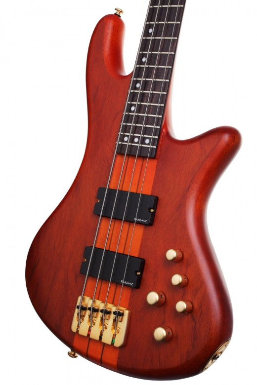 Schecter Stiletto Studio 4: A Top Bass for Metal