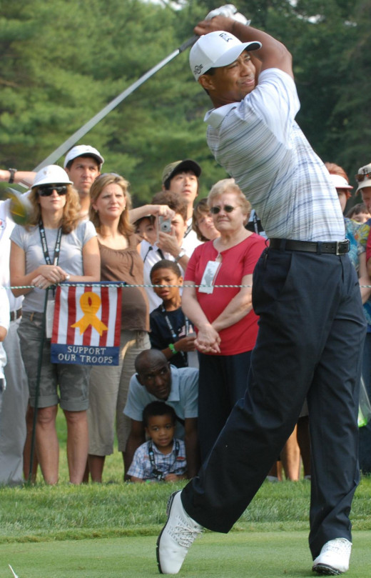 Tiger at Congressional 2007
