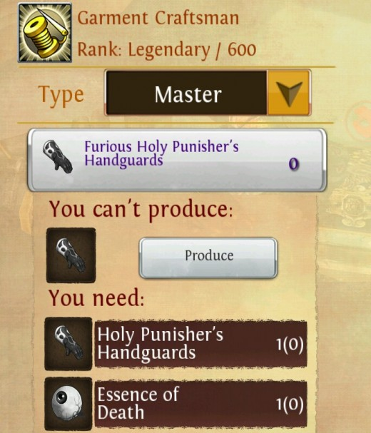 Crafting epic gear in order and chaos.