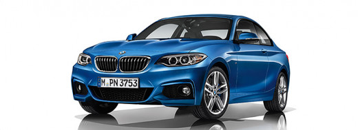 BMW M235i in Estroil Blue